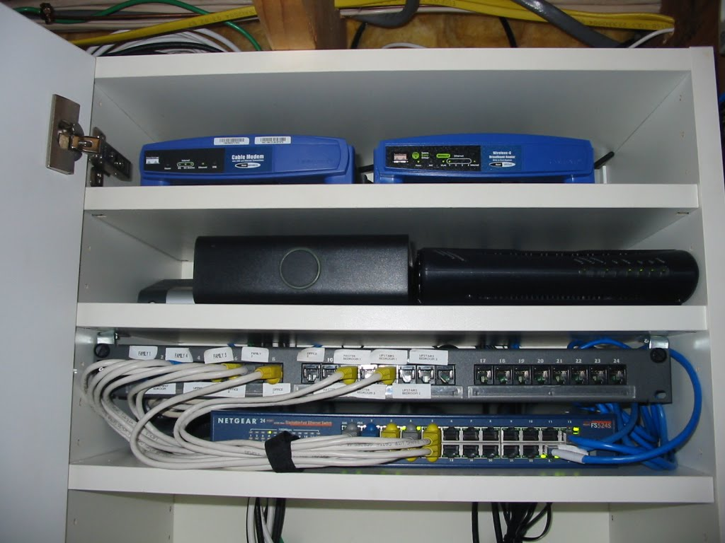 Networking our eco house Wired home network architecture